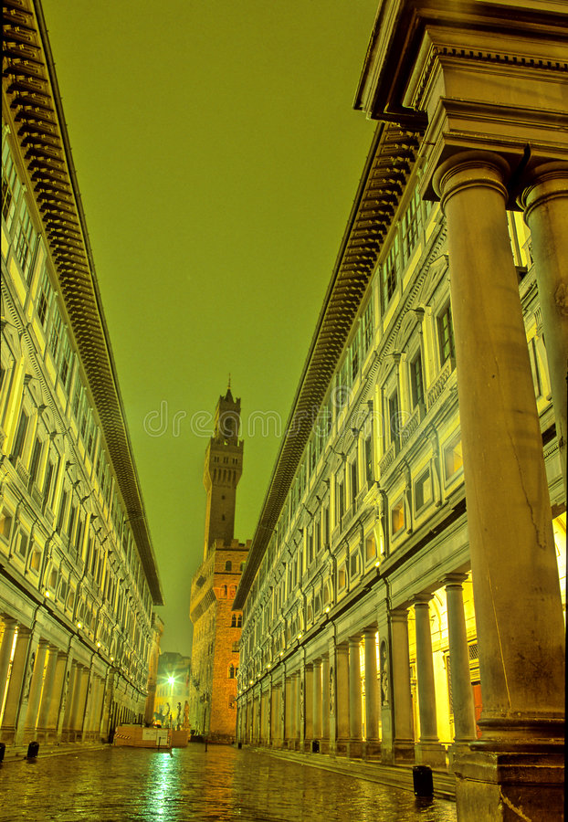 uffizi de firenze Italie photographie stock