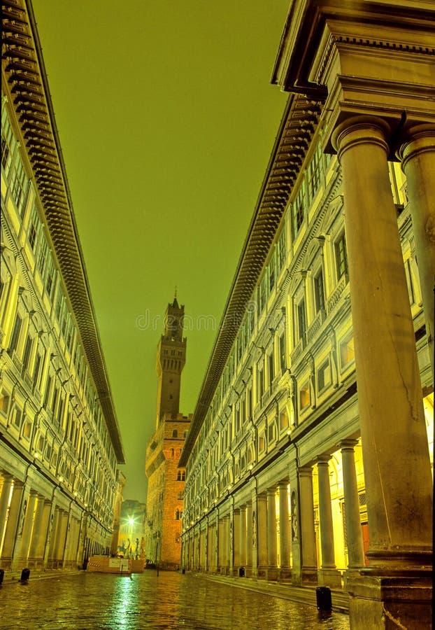 Uffizi-Firenze, Italia fotografia stock