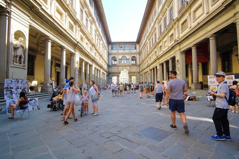 Uffizi-Galerie lizenzfreies stockbild