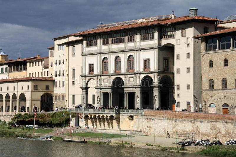Uffizi Galerie, Florenz stockfoto