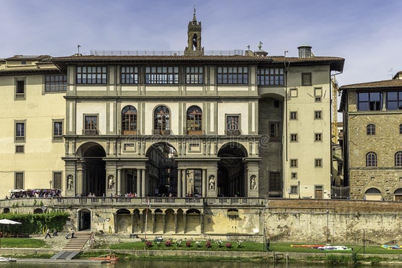 Uffizi-Galerie in Florenz lizenzfreie stockfotos
