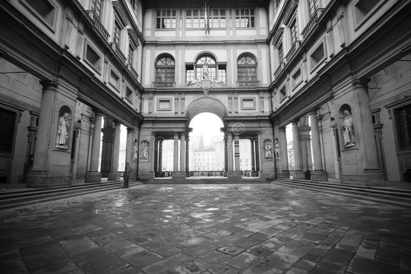 Uffizi Museum, Florenz lizenzfreie stockbilder