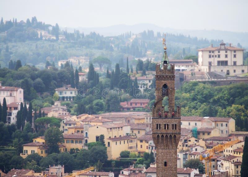 Uffizi torn royaltyfria foton