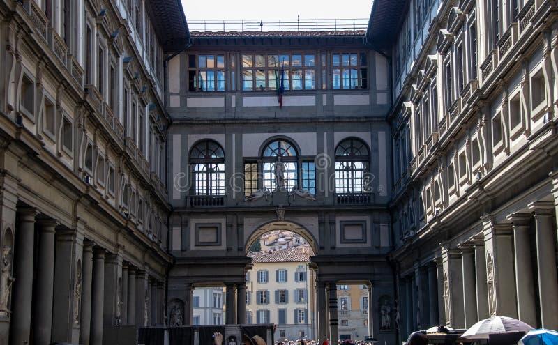 Uffizi w Florencja fotografia royalty free