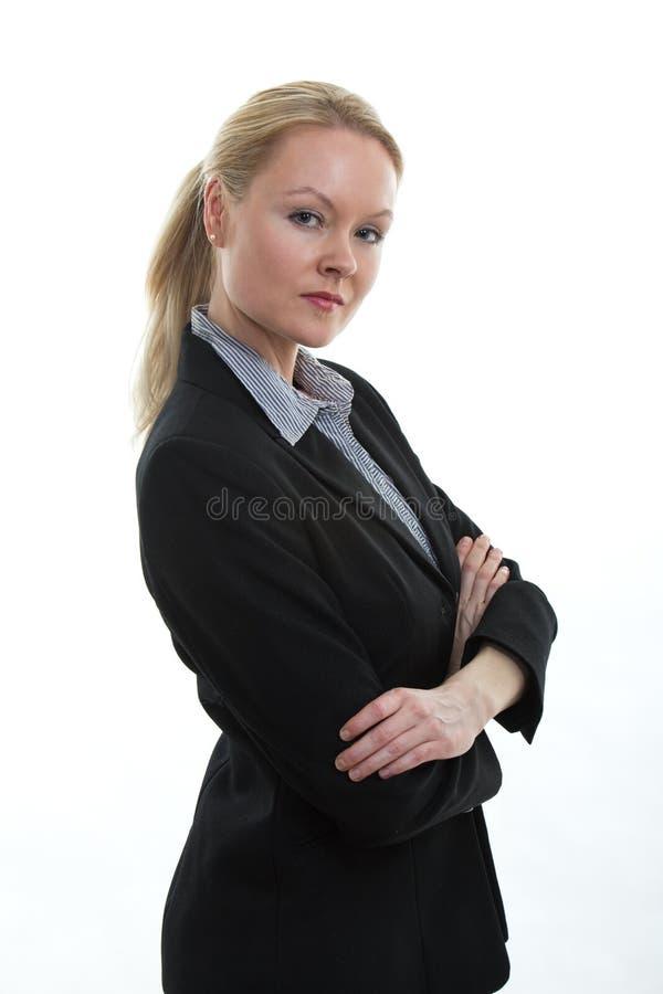 Ufna biznesowa kobieta fotografia royalty free