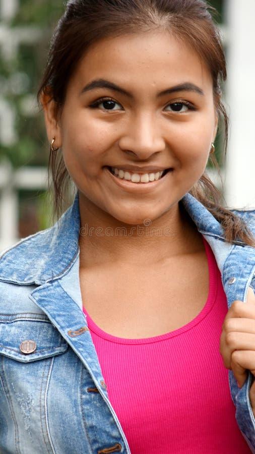 Ufna młoda osoba zdjęcia stock