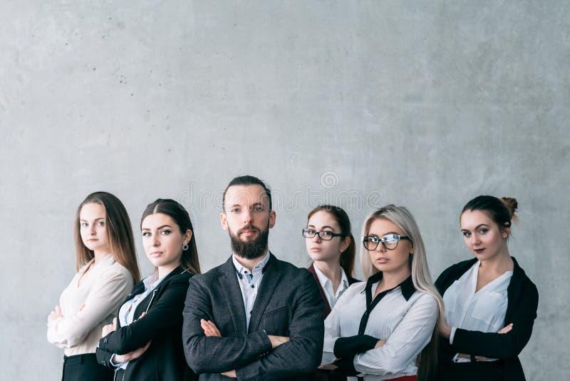 Ufnego biznesu trenera trenowania korporacyjna drużyna zdjęcia royalty free