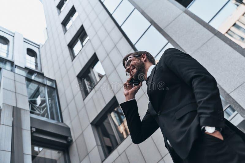 Ufny biznesowy ekspert zdjęcia stock