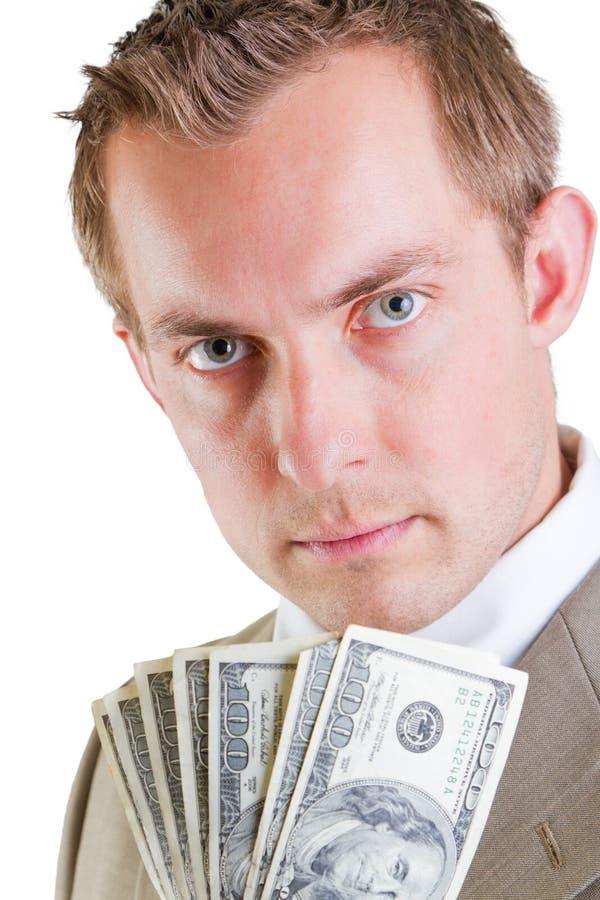 Ufny biznesowy mężczyzna obraz stock
