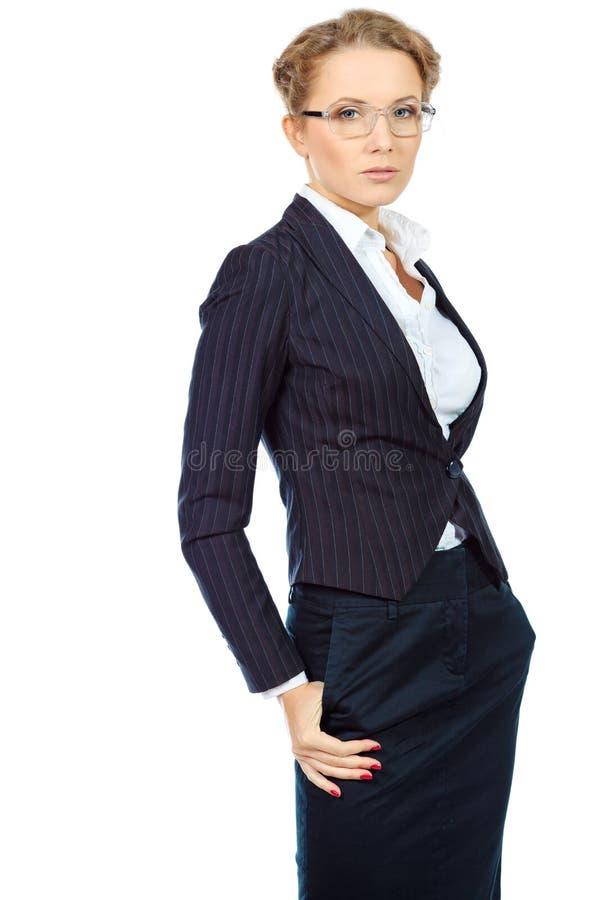 Ufny bizneswoman zdjęcie royalty free