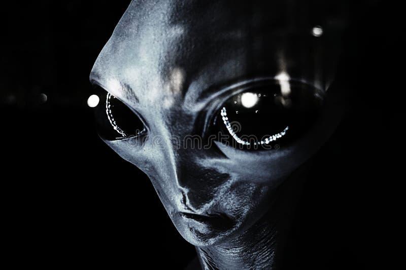 UFO - Αλλοδαπός στοκ φωτογραφία με δικαίωμα ελεύθερης χρήσης