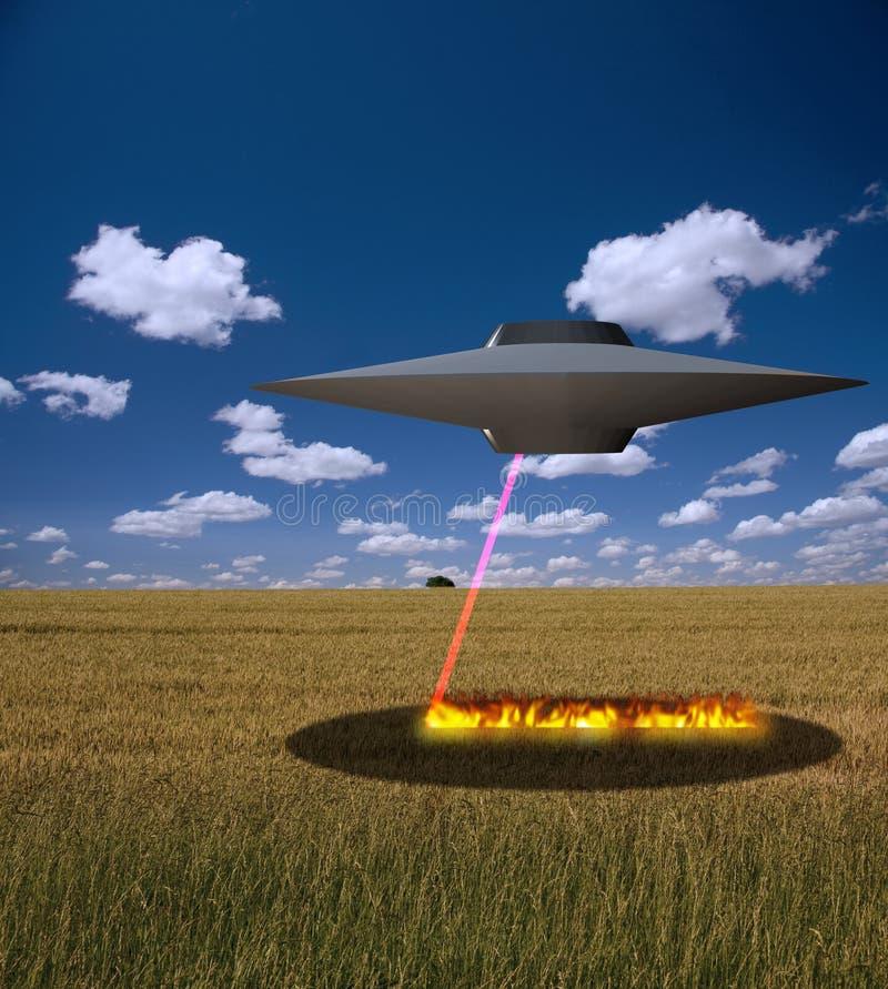UFO ilustração stock
