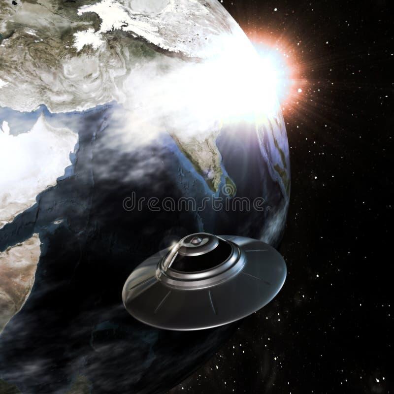 ufo stock illustrationer