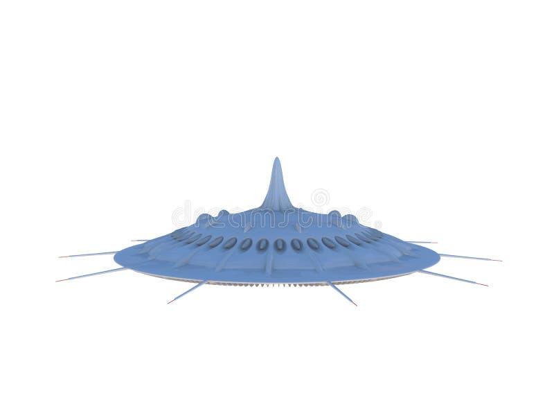UFO 14 ilustração royalty free