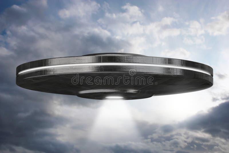 Ufo royalty-vrije illustratie