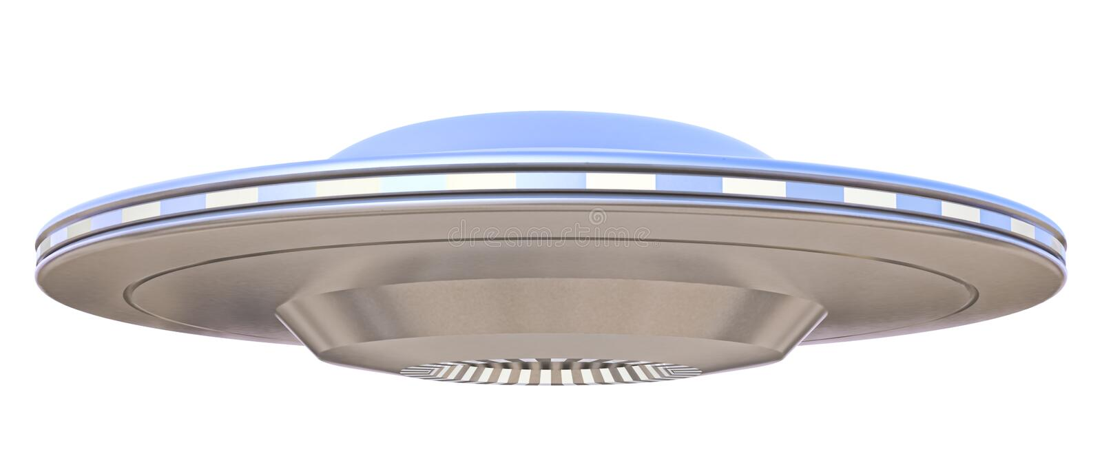Ufo. On a white background vector illustration