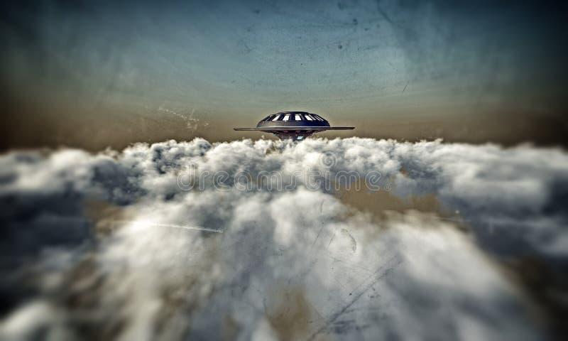 ufo διανυσματική απεικόνιση