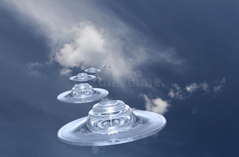 UFO fotografia de stock royalty free