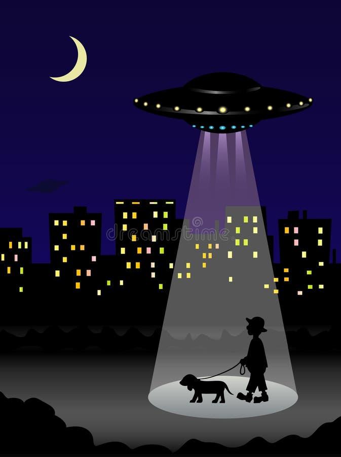 ufo ilustracja wektor