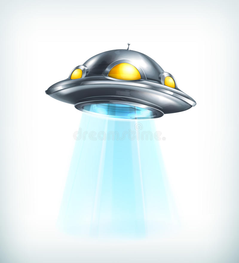 ufo vektor illustrationer