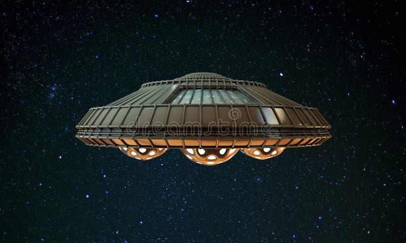 Ufo royalty ilustracja