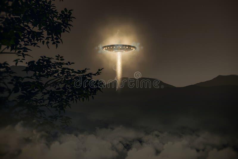 UFO ilustracji