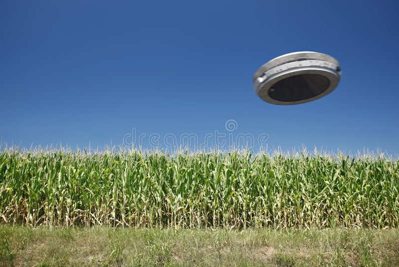 Download UFO stock photo. Image of retro, hovering, disc, object - 5859136