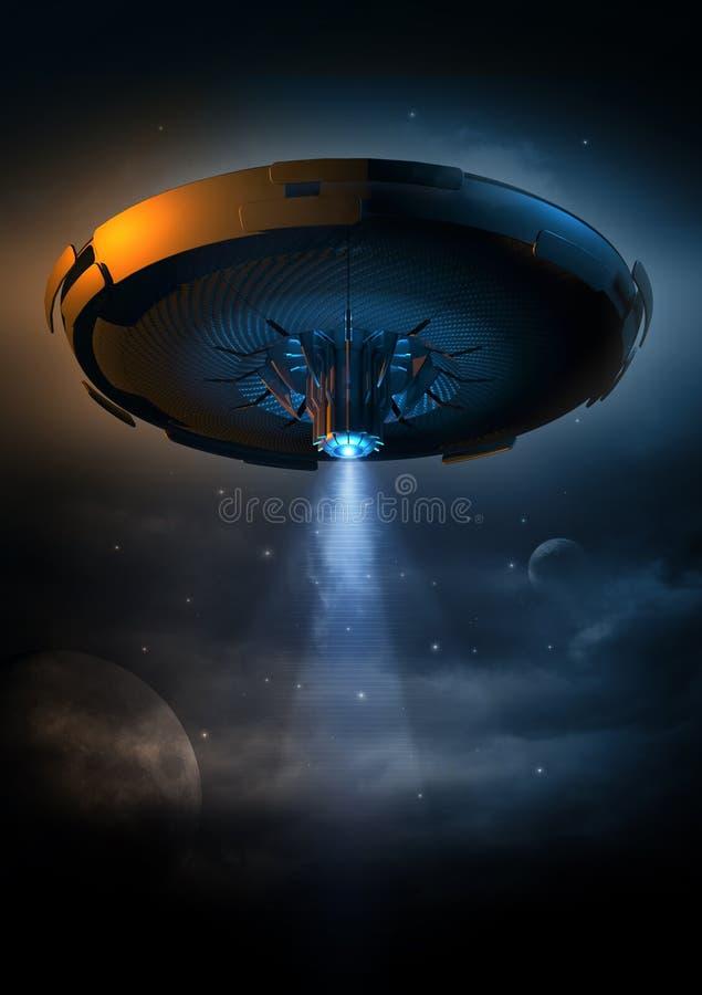 UFO ilustração do vetor