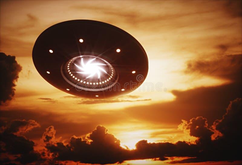UFO στοκ φωτογραφία