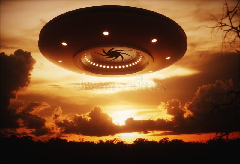 UFO royalty illustrazione gratis