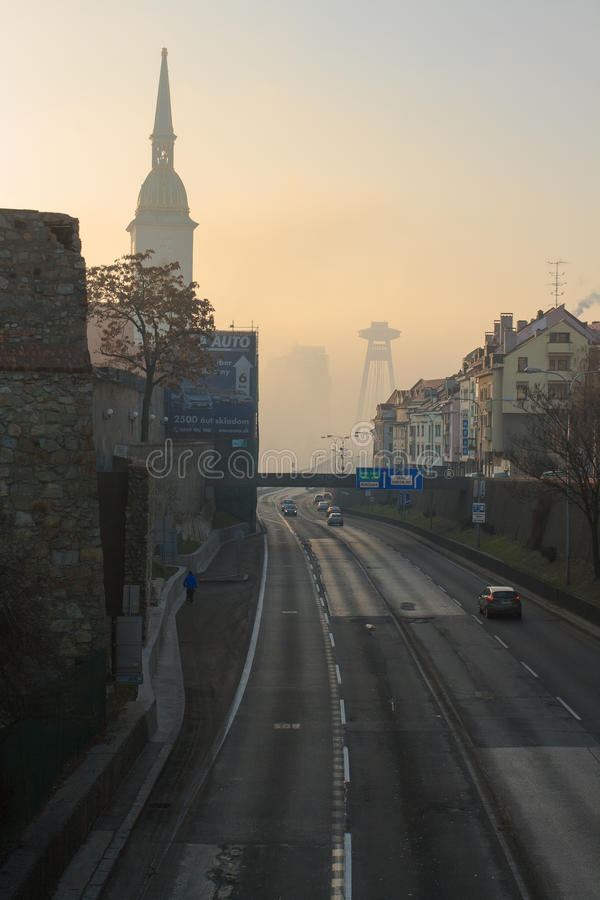 UFO Bratislava photo libre de droits