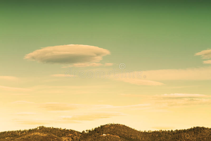 Download UFO cloud stock photo. Image of cloudy, mystery, concept - 19765616