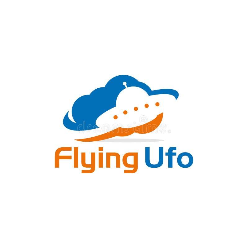 UFO criativo Logo Vetora Art Logo ilustração stock