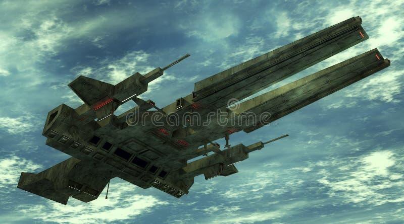UFO 3d libre illustration