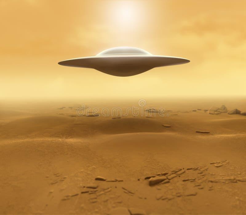 UFO stock illustration
