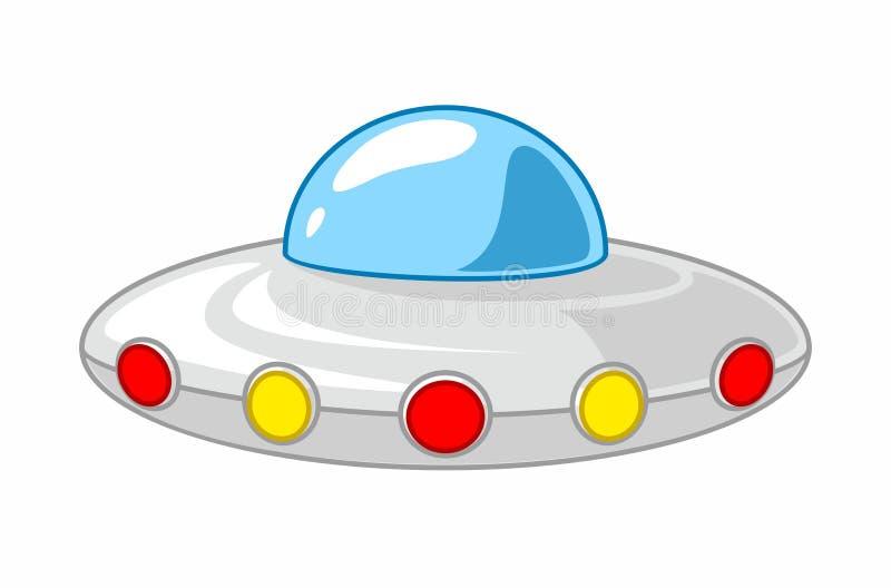 Download UFO de la historieta ilustración del vector. Ilustración de objeto - 100527614