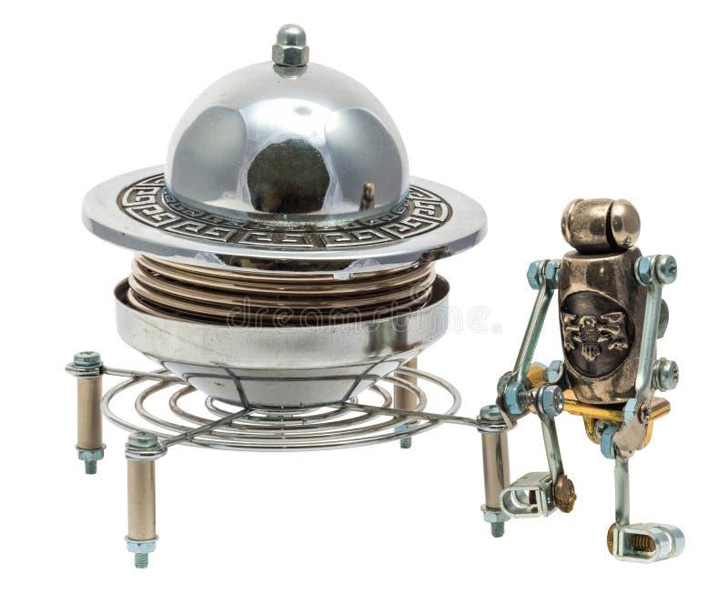 UFO de Steampunk foto de stock royalty free