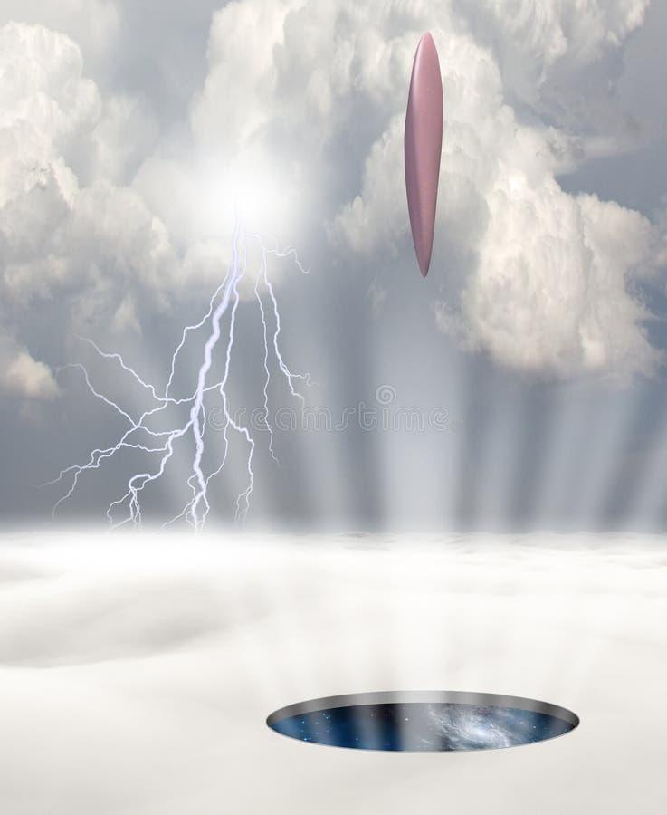 UFO ilustración del vector