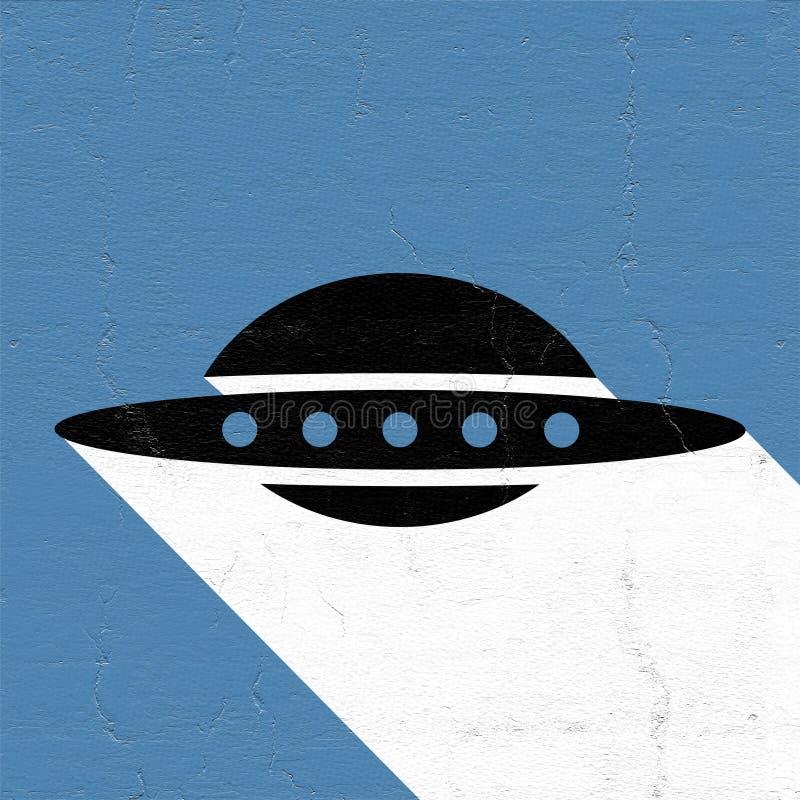 UFO ikona ilustracji