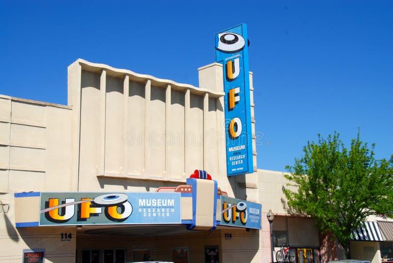 Ufo museum stock photos