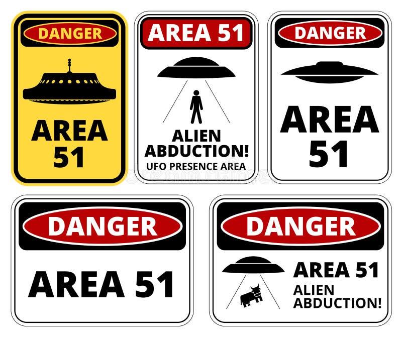 Ufo niebezpieczeństwo ilustracji