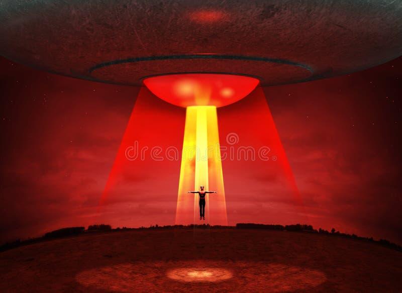 UFO obcych uprowadzenie ilustracji