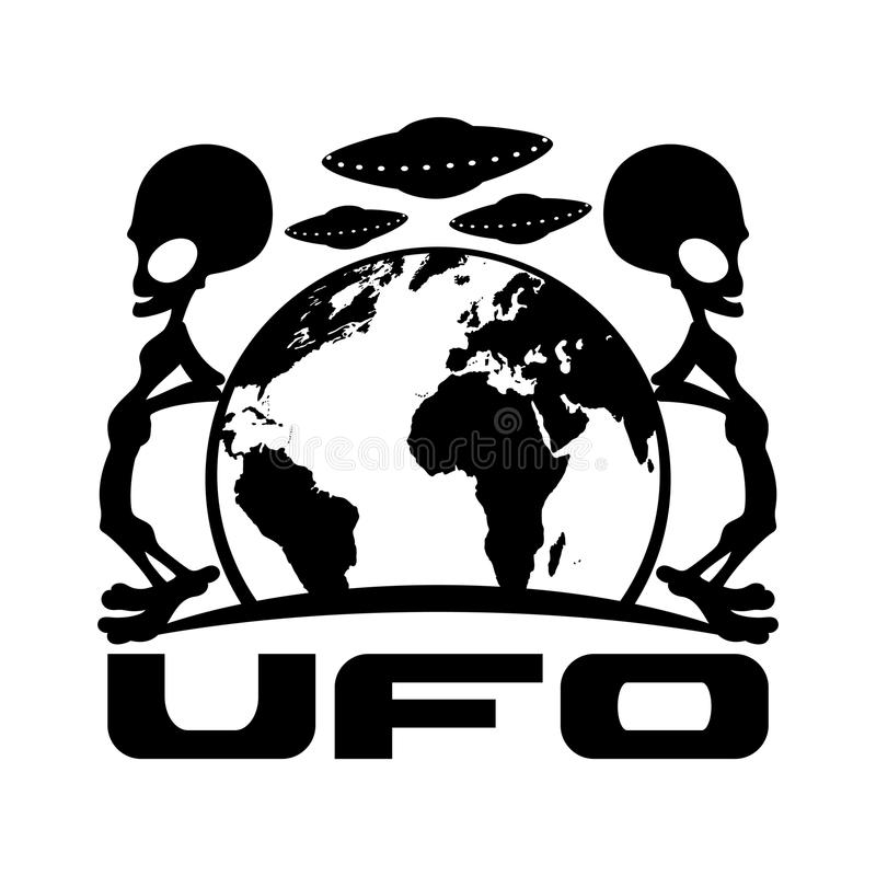 Tattoo Ufo Stock Illustrations