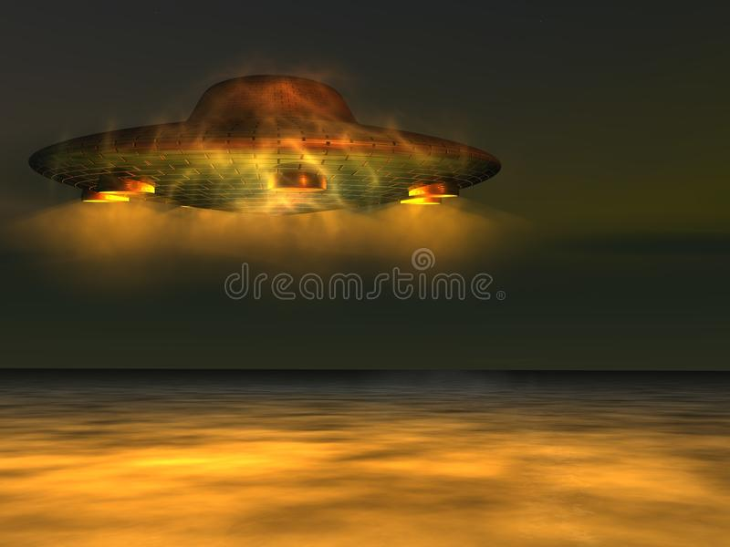 Download UFO - Unidentified Flying Object Stock Illustration - Image: 17035499