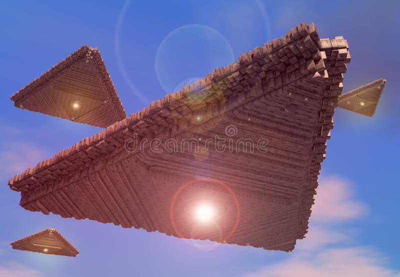 UFOS Stock Photo