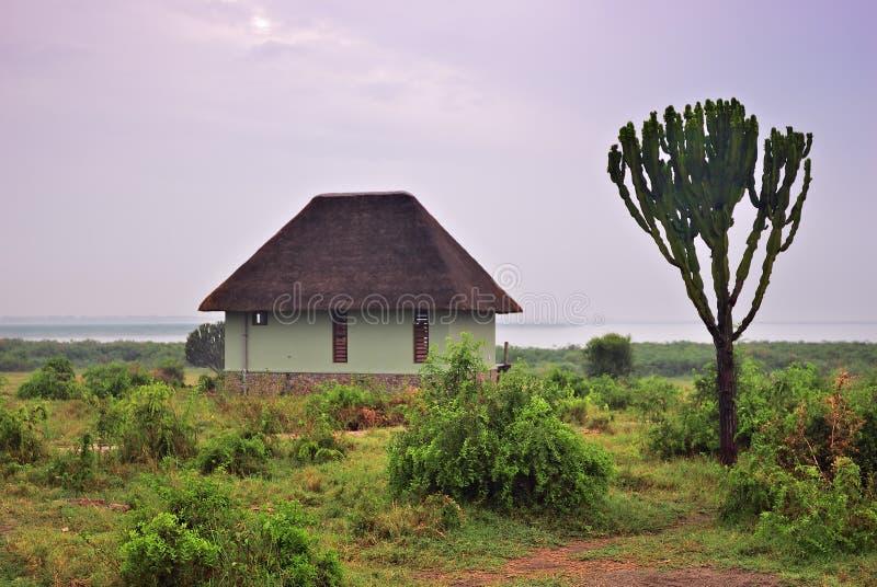 Uganda, See George, Afrika stockbild