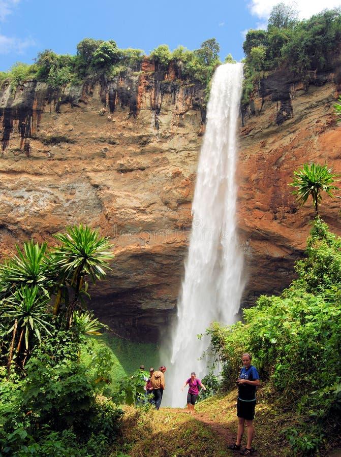 Uganda-Tourismus stockfotos