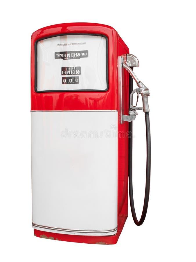 Ugelli della pompa di gas in un distributore di benzina immagine stock