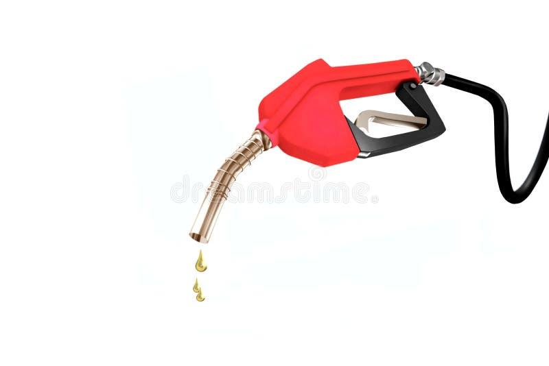 Ugello della pompa della benzina fotografia stock