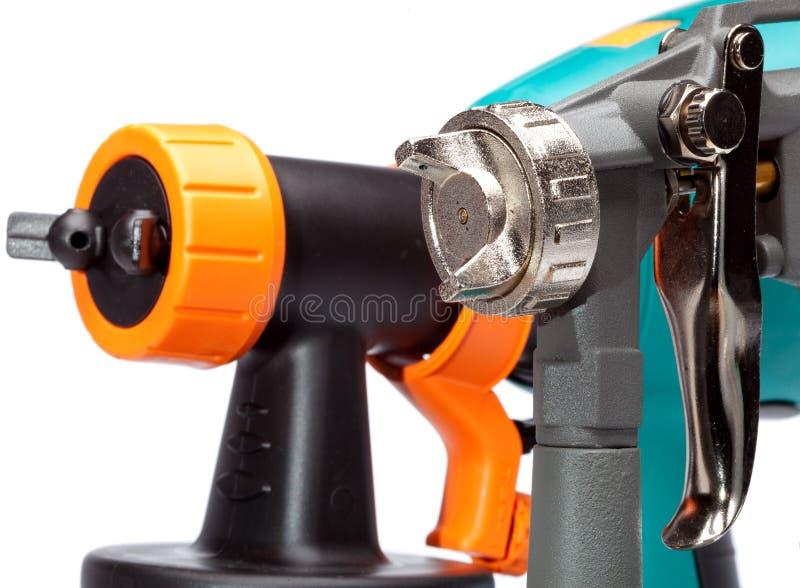 Ugello di una pistola a spruzzo fotografie stock libere da diritti